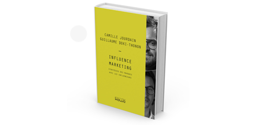 Livre Influence Marketing  Camille Jourdain