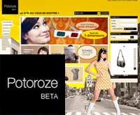 Potoroze Page acceuil