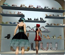 Apple Second Life ecommerce 3D