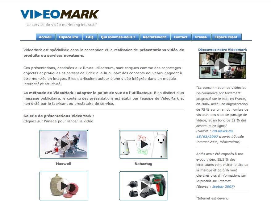 VidéoMark