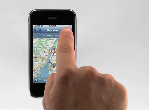 iPhone 3G GPS