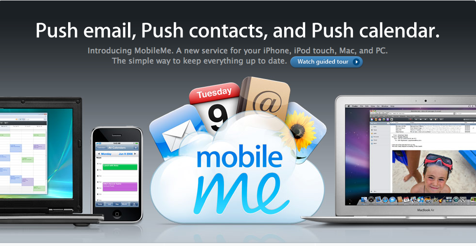 iPhone MobileMe