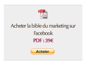 Bible Marketing sur Facebook