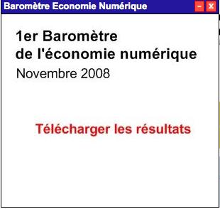 Baromètre économie numérique ebg