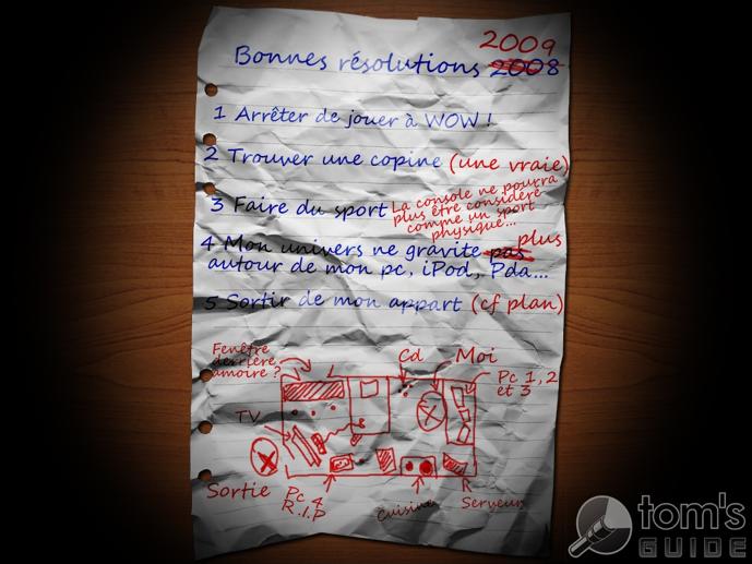 Bonnes résolutions d'un Geek 2009