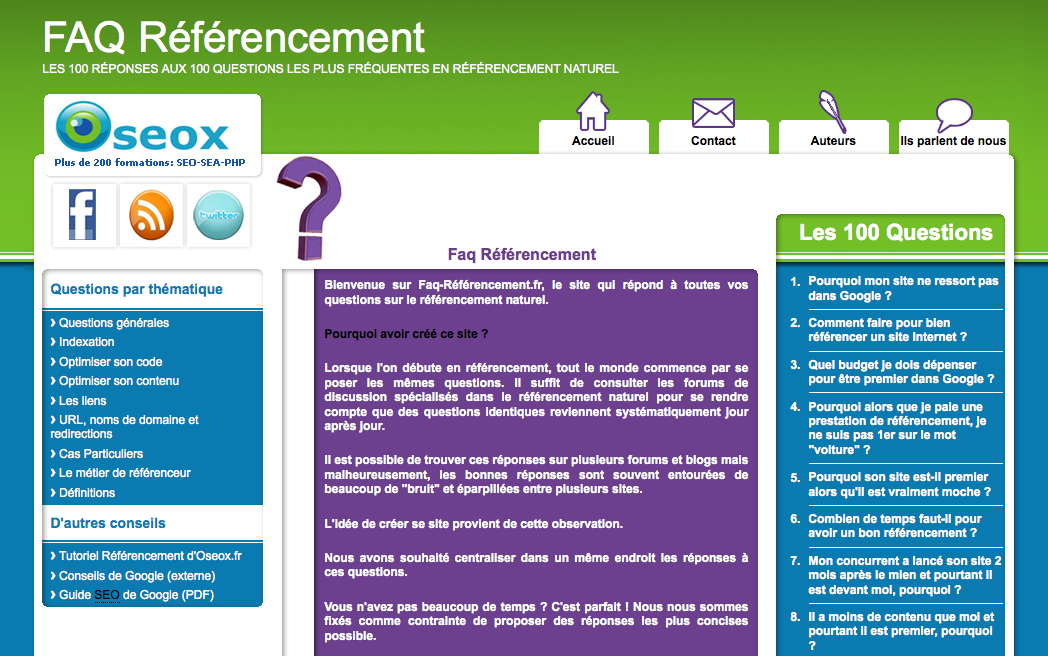 faq-referencement